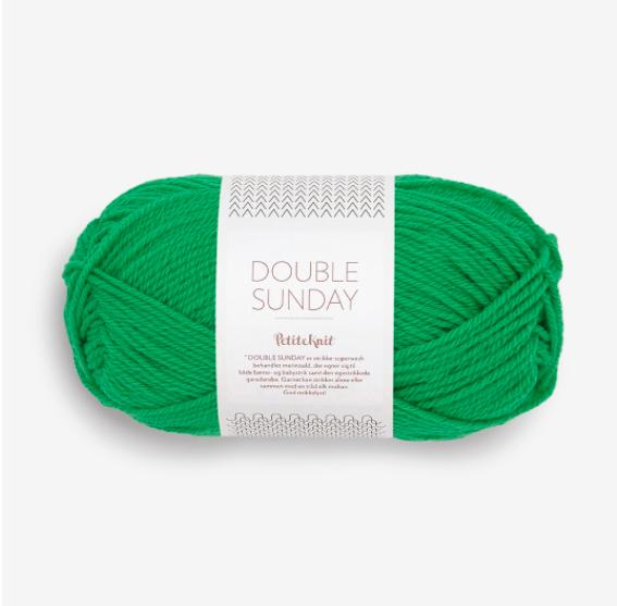 Double Sunday - PetiteKnit, Sandnes Garn, 8236 statement green